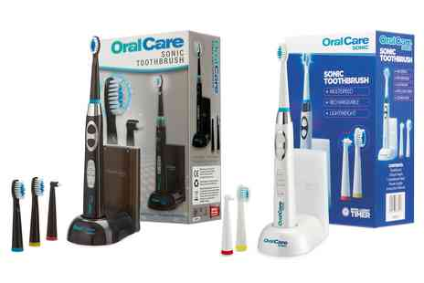 Groupon Goods Global GmbH - Oral Care Rechargeable Sonic Toothbrush - Save 0%