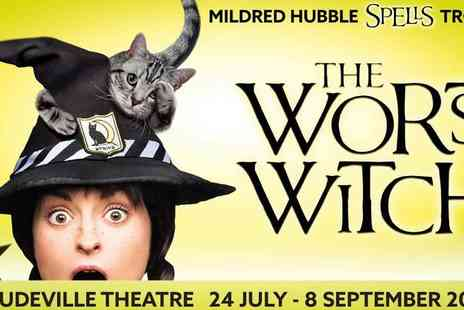 Encore Tickets - The Worst Witch at the Vaudeville Theatre - Save 50%