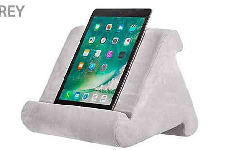 Fantasy Supply - Soft Pillow Tablet Holder Choose from 4 Colours - Save 80%