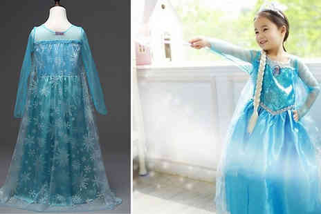 My Blu Fish - Queen Elsa Inspired Girls Princess Dress Choose from 6 Sizes - Save 67%