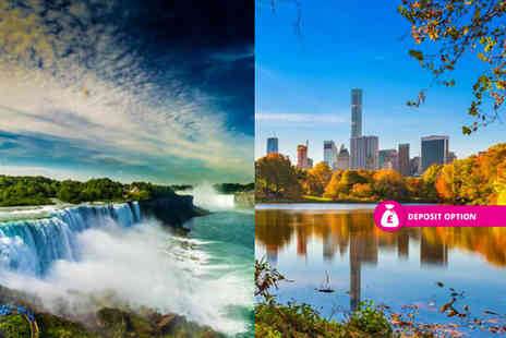 Weekender Breaks - Six nights New York and Niagara Falls holiday with a train transfer and return flights - Save 21%