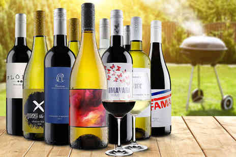 Virgin Wines - An exclusive 10 bottle wine case - Save 59%