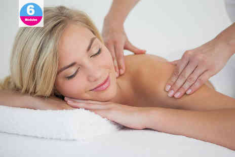 Online Beauty Training - Online body massage course or Swedish massage course - Save 95%