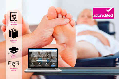 Harley Oxford - Online reflexology course - Save 94%