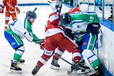Ice Hockey in London! Lee Valley Lions - Two adult or one family ticket from 15th September 2019 To 1st March 2020 - Save 30%