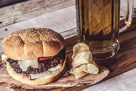 The Grange - Choice of Meat or Veggie Burger or Hot Dog with Drink for Up to Six - Save 38%