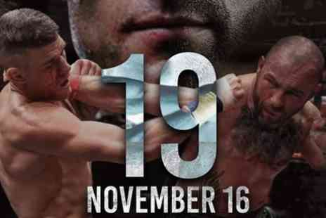 Indigo O2 - One or Two Tickets to BKB 19 Bare Knuckle Boxing Match on 16 November - Save 67%