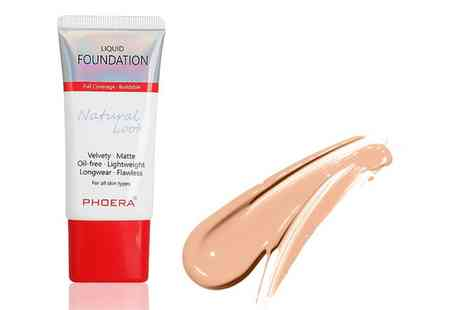 Groupon Goods Global GmbH - Phoera Full Coverage Foundation - Save 0%