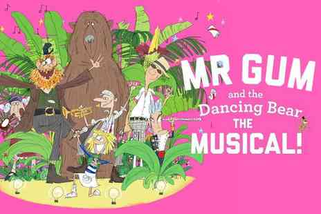 Encore Tickets - Mr Gum and the Dancing Bear the Musical! at the National Theatre - Save 57%
