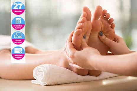 Online Beauty Training- Advanced reflexology diploma - Save 92%