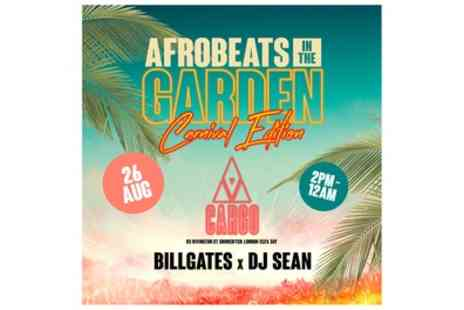 Afrobeats in The Garden - One or Two standard general admission tickets from 26th August - Save 39%