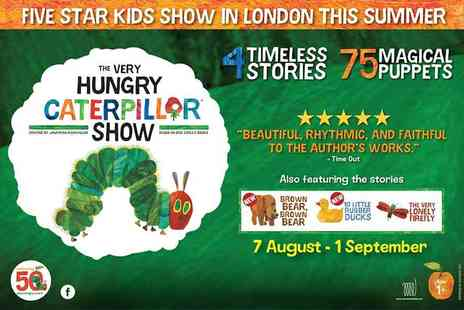 Encore Tickets - The Very Hungry Caterpillar at the Troubadour White City Theatre - Save 40%