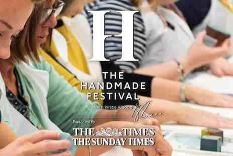 Brand Events International - The Handmade Festival with Kirstie Allsopp The Ultimate Creative Day Out - Save 38%