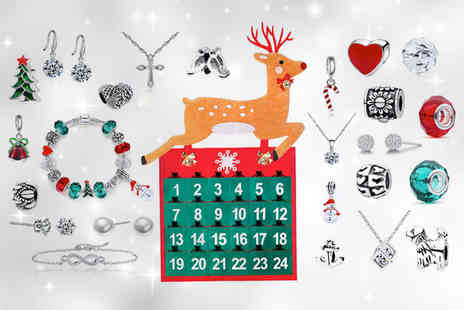 Your Ideal Gift - Jewellery advent calendar choose between three designs - Save 88%