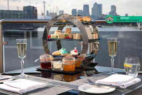 Sunborn London Yacht Hotel - Afternoon tea with a signature cocktail each - Save 39%