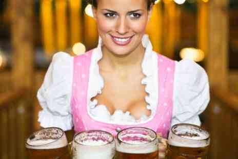 Birmingham Oktoberfest - Two Bavarian Tickets with a Snack from 29th To 31st August - Save 41%