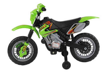 Mhstar - 6V Kids Electric Ride On SFX Motorcycle Available in 3 Colours - Save 67%