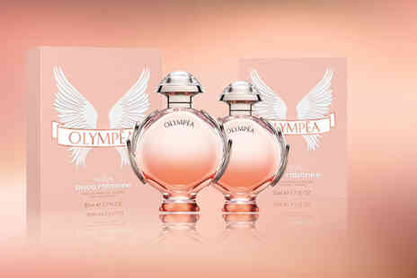 Wowcher Direct - 50ml bottle of Paco Rabanne Olympea Aqua EDP or 80ml bottle - Save 25%
