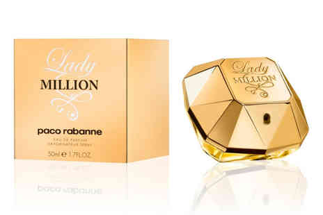 Wowcher Direct - Paco Rabanne Lady Million 50ml EDP spray - Save 46%