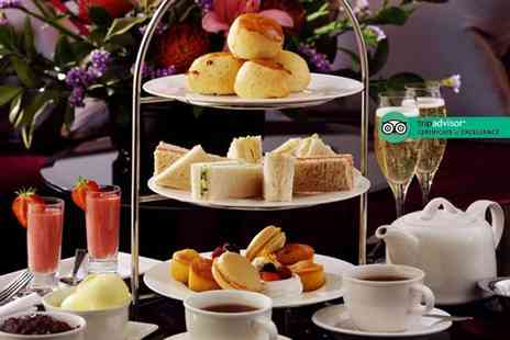 Rossett Hall - Afternoon tea for two people including a glass of Prosecco each - Save 51%