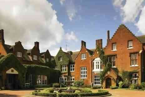 Sprowston Manor Hotel & Country Club - Spa Day with Treatment and Prosecco for One or Two - Save 41%