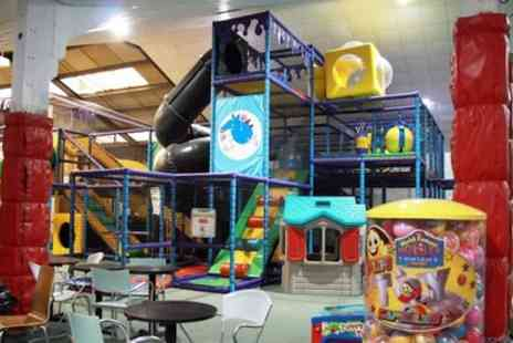 Manic Monsters - Off Peak or Peak Two Hour Soft Play Entry for Two Kids and Two Adults - Save 47%