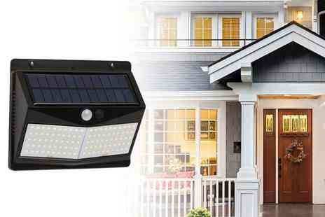 YelloGoods - 100 Led motion sensor solar light - Save 64%
