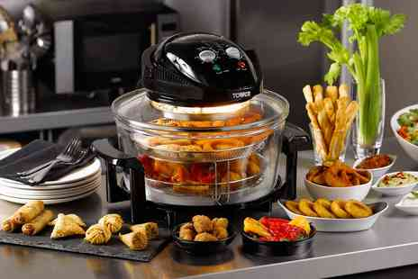 Groupon Goods Global GmbH - Tower 1300W 17L Halogen Low-Fat Air Fryer - Save 0%