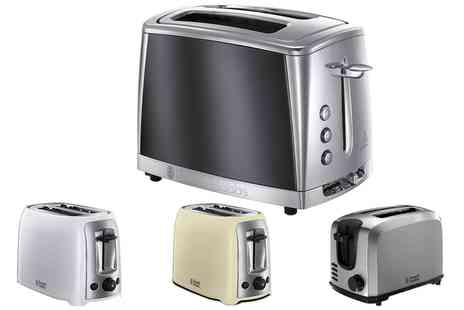 Groupon Goods Global GmbH - Russell Hobbs Two Slice Toaster - Save 0%