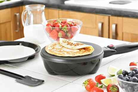 Groupon Goods Global GmbH - Neo Electric Non Stick Pancake and Crepe Maker with Accessories - Save 0%