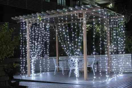 MBLogic - Waterproof Led fairy lights curtain - Save 70%