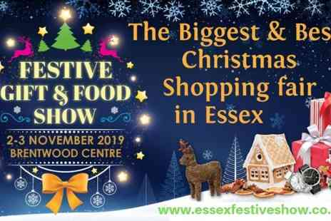 Aztec Events - Two adult tickets to the Essex Festive Gift & Food Show - Save 50%