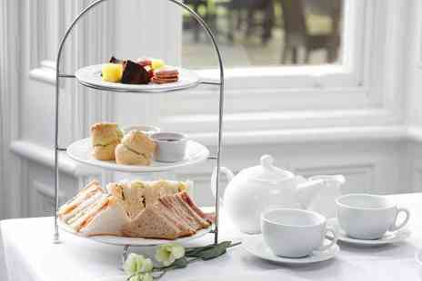 Burn Hall - Afternoon tea for two with tickets to York Bird of Prey Centre - Save 69%