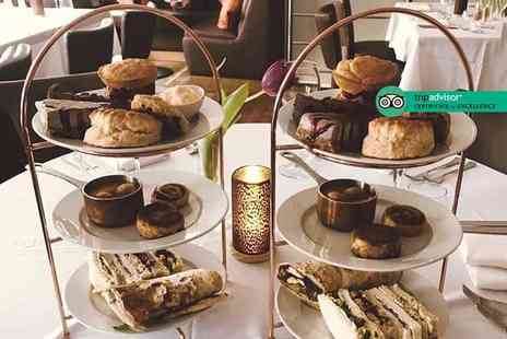 Souls Restaurant - Afternoon tea for two people with a glass of Prosecco or cocktail each - Save 61%