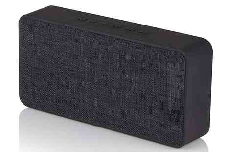 Groupon Goods Global GmbH - Akai A58074 Fabric Bluetooth Speaker - Save 0%