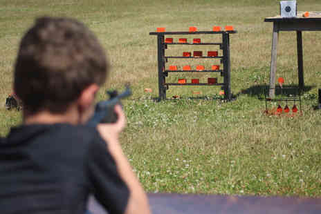 Activity Centre Blyth - One hour air rifle shooting experience - Save 77%