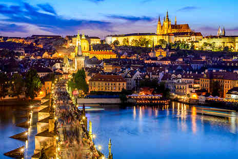 Bargain Late Holidays - Two nights Prague Halloween getaway with return flights, breakfast and walking night tour - Save 34%