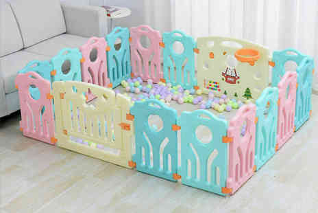 CnDirectBiz - Kids plastic play pen choose from four sizes - Save 0%