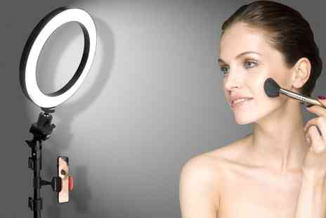 Groupon Goods Global GmbH - Beauty Ring Light with Adjustable 50cm or 170cm Stand - Save 0%