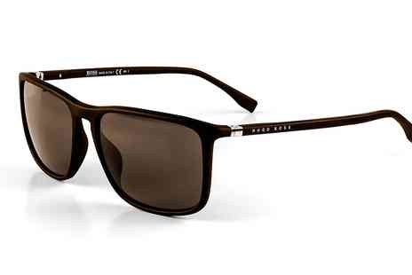 Groupon Goods Global GmbH - Hugo Boss Brown Sunglasses - Save 0%