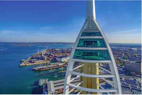 Emirates Spinnaker Tower - One Night Inn Break and Visit with Afternoon Tea for Two - Save 0%