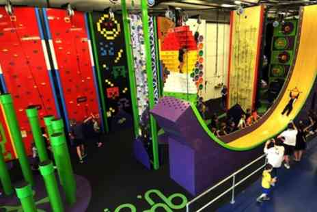 Clip 'N Climb - 55 Minute Indoor Climbing Session for One, Two or Four - Save 36%