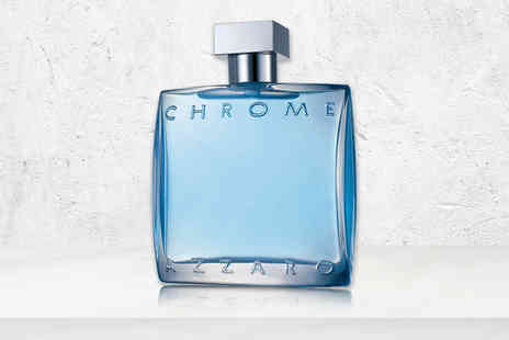 Wowcher Direct - 100ml bottle of Azzaro Chrome EDT - Save 33%