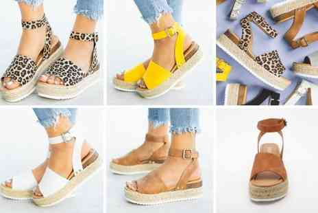 BluFish - Summer platform sandals choose from four colours - Save 70%