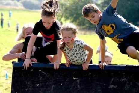 Ultm8 Warrior - Ultm8 Warrior Run, Two Kids Tickets from 13th October and 20th October - Save 38%