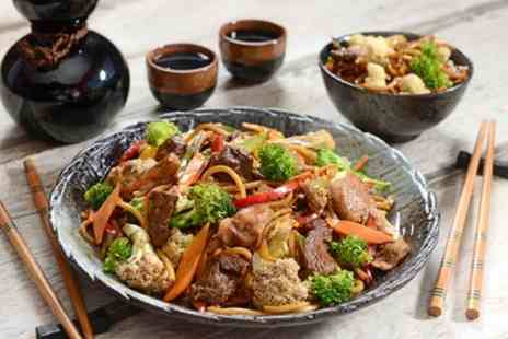Lucky Star - Two Course Chinese Meal with Rice and Soft Drink for Two or Four - Save 39%