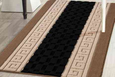 Groupon Goods Global GmbH - Machine Washable Non Slip Gel Back Entrance Mat - Save 0%