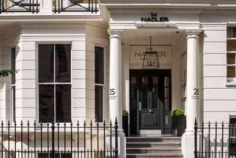 The Nadler Kensington - Four Star Townhouse Stay in the Royal Borough for two - Save 0%