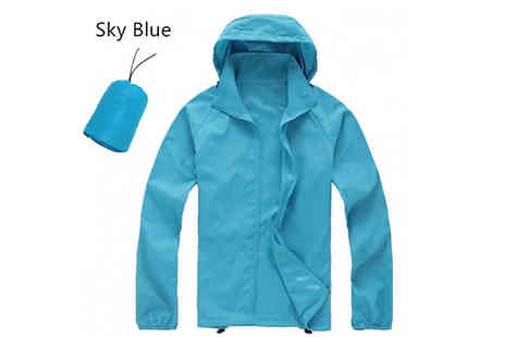 hey4beauty - Oversized Waterproof Jacket Choose from 10 Colours And 4 Sizes - Save 67%