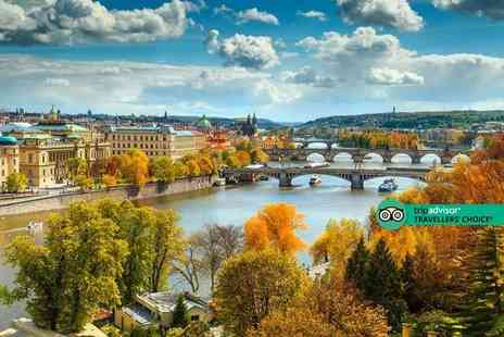 Cheap Cost Travel - Four Star Escape with a two, three or four nights Prague getaway Now with the ability to choose your flight - Save 0%